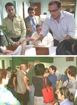 Consignación documentos en Secretaría Concejo Municipal Baruta