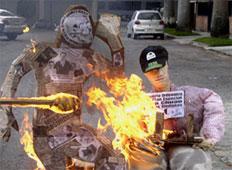 Entregados a la Justicia del Fuego dos Judas en Chuao