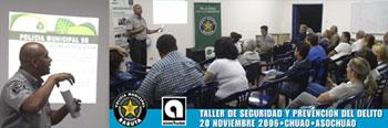 Realizado Taller de Seguridad y Prevención del Delito