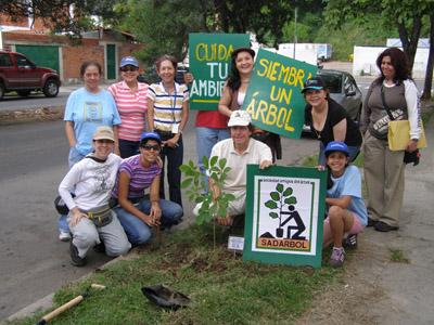 Realizada Jornada Ecológica de Siembra de Arboles en Chuao