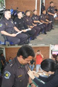 Entregado Reconocimiento al Equipo Policial Municipal en Chuao