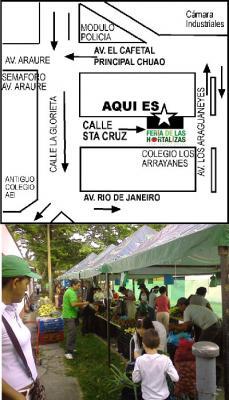 Reabrió Feria Hortalizas en Chuao los sábados