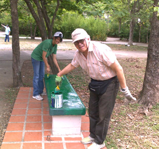 JORNADA DE Realizada 16 mayo Jornada Recuperación Parque#4 Chuao PARQUE NO 4 CHUAO