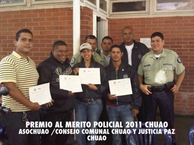 Otorgado Premio al Mérito Policial en Chuao